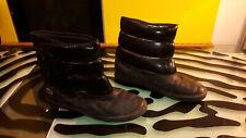 7291767123c29 Lacoste Bundle Shine 024 Boots Decent Shape Black Women s Size 8.5