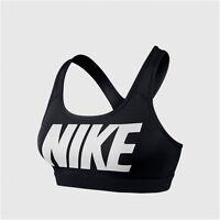 NEW Nike Pro Classic Logo Women's Sports Bra Black