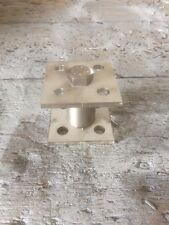 Stainless Timber Fence Post Shoe 50mm High 75 to 100mm Square Post PACK OF 4