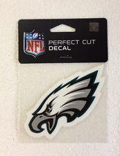 "Philadelphia Eagles 4"" x 4"" Team Logo Truck Car Auto Window Die Cut Decal Color"