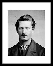 Wyatt Earp 8X10 Photo Print Old West OK CORRAL Doc Holliday Western Cowboy Law