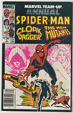 Spider-Man Cloak & Dagger Marvel Team-Up Annual #6 Marvel 1983 LOT (8) FN+ to VF