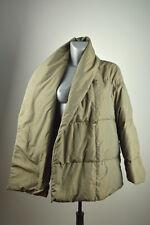 MAXMARA Womens Winter Goose Down Jacket Quilted Coat Chameleon Green US10 UK12