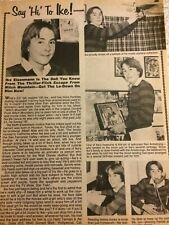 Ike Eisenmann, Full Page Vintage Clipping