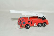die cast Matchbox Fire Ladder rescue truck