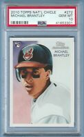 Michael Brantley RC PSA 10 2010 Topps National Chicle Rookie Cleveland Indians