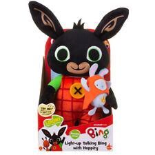 Bing Light-Up Talking Bing with Hoppity 36cm Plush Soft Toy