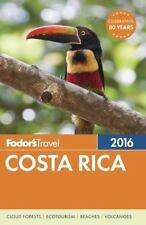 Fodor's Costa Rica 2016 (Full-color Travel Guide)-ExLibrary