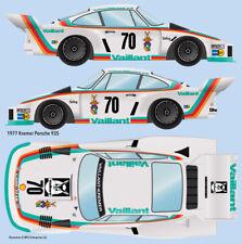 1977 Vaillant Kremer #70 Porsche 935 Water Transfer Decals 1/20 scale for Tamiya