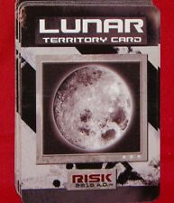 Risk 2210 A.D. Game Replacement Lunar Territory Cards 14 Cards Avalon Hill 2001