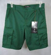 Simon & Thomas Men's Cargo Short - Size 30 - Color Green