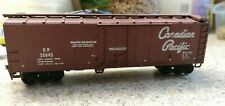 Canadian Pacific 40 foot reefer wagon, assembled, needs TLC.