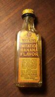 Vintage Original Watkins Imitation Banana Flavor Bottle