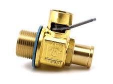 FG7BNS: M22-1.5 FUMOTO ENGINE OIL DRAIN VALVE W/ NIPPLE