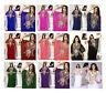 FREE SIZE Dubai Style Georgette Farasha Kaftan Caftan Abaya Maxi Dress Gown -N16