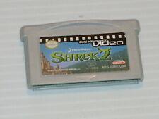 Game Boy Advance Video: Shrek 2 (Nintendo Game Boy Advance, 2005) cart only