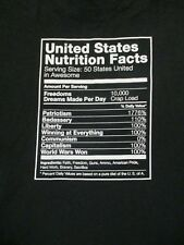 L black UNITED STATES NUTRITION FACTS unbranded