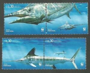Portugal 2004 - WWF Swordfish Azores set MNH