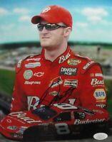 Dale Earnhardt Jr. Signed Autographed 8X10 Photo Smiling Sunglasses Low Sig JSA