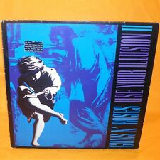 "1991 GEFFEN RECORDS GUNS N' ROSES - USE YOUR ILLUSION II 12"" DOUBLE LP VINYL"
