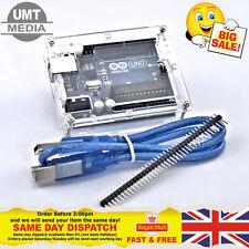 Uno r3 Arduino con Custodia rev3 328 ATmega 328p compatibile con bordo libero USB Regno Unito
