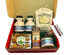 Vermont Maple Sampler - Deluxe Gift Box Filled with Syrup and Maple Products