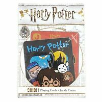 Harry Potter Chibi 52 Playing Cards Collection New In Package