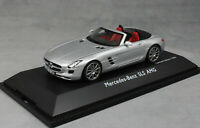 Schuco Mercedes-Benz SLS AMG Roadster in Silver 450745700 1/43 Ltd Ed 1000