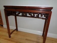 antique chinese side table huanghuali