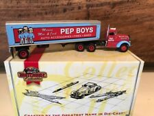 Matchbox 1/100 Scale-1939 Peterbilt Tractor Trailer The Pep Boys - MIB DYM35267