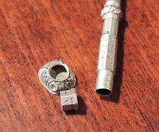 Porte mine, calendrier perpétuel, cachet, sceau, argent, XIX°