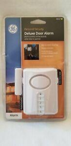 GE 45117 Wireless Door Alarm with Programmable Keypad Chime