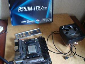 Ryzen 5 3600 CPU + Cooler  + B550 MITX + 1TB Evo M2 SSD Motherboard Bundle