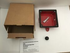 *Nib* *New* System Sensor Wbb Weatherproof Fire Alarm Backbox