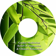 Guided Meditation Relief Of Depression & Relaxation Music Track on 1 CD Healing