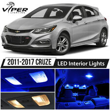 2011-2017 Chevy Cruze Blue LED Interior Lights Package Kit