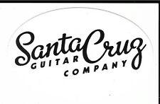 Santa Cruz Guitar Company Sticker / Decal