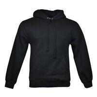 Men's Pullover Hoodie Sweatshirt - AAA Alstyle Apparel - Black - Size: S