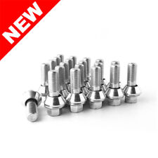 SET OF (20) M14x1.5 14 x 1.5 VARIABLE PCD WOBBLE WOBBLY ALLOY WHEEL LUG BOLTS