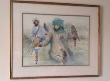 Middle East / Golf Arabic Watercolor Painting