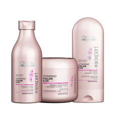 -NOUVEAU!- PACK L'OREAL VITAMINO COLOR A.OX SHAMPOOING + SOIN + MASQUE