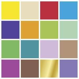 Heyda Tonpapier A4 ★ 130 g/qm ★ Menge und Farbe wählbar ★ 21 cm x 30 cm