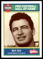 1989 Hall of Fame Green #105 Ron Mix HOF RARE San Diego Chargers / USC Trojans