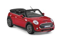 Mini Cooper S F57 Convertible Minature Diecast Model 1:18 Chilli Red 80432405583