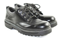 Skechers Cool Cat Pixel Men's Black Leather Casual Work Boots Shoes Size 12