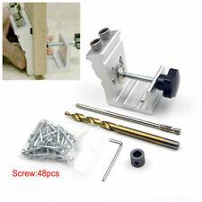 Pocket Hole Jig Kit Tool System Woodworking Screw Drill 850 EZ Heavy Duty Set