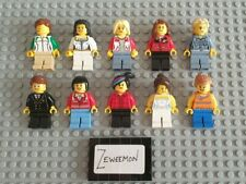 Lego figure minifigure man minifig x10 women girls female lot 6