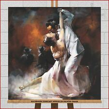 Argentine Tango Dance Dancing Dancers Large Framed Box Canvas Print Picture