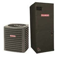 Goodman 16 SEER 2.5 Ton Central AC Condenser and Multi Position Air Handler