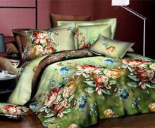 Cotton Blend Floral Bedding Sheets